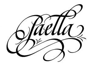 Paella-caligrafo